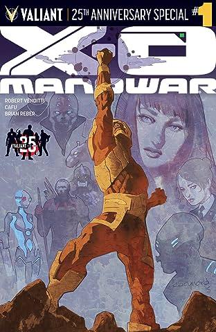 X-O Manowar: Valiant 25th Anniversary Special No.1