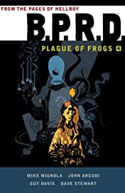 B.P.R.D.: Plague of Frogs Tome 4