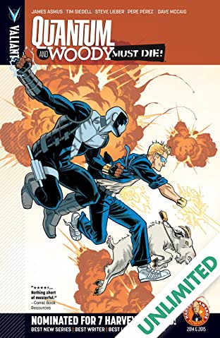 Quantum and Woody Vol. 4: Quantum and Woody Must Die!