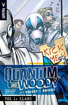 Quantum and Woody by Priest & Bright Tome 1: Klang