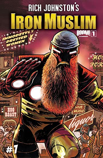 Rich Johnston's Iron Muslim #1