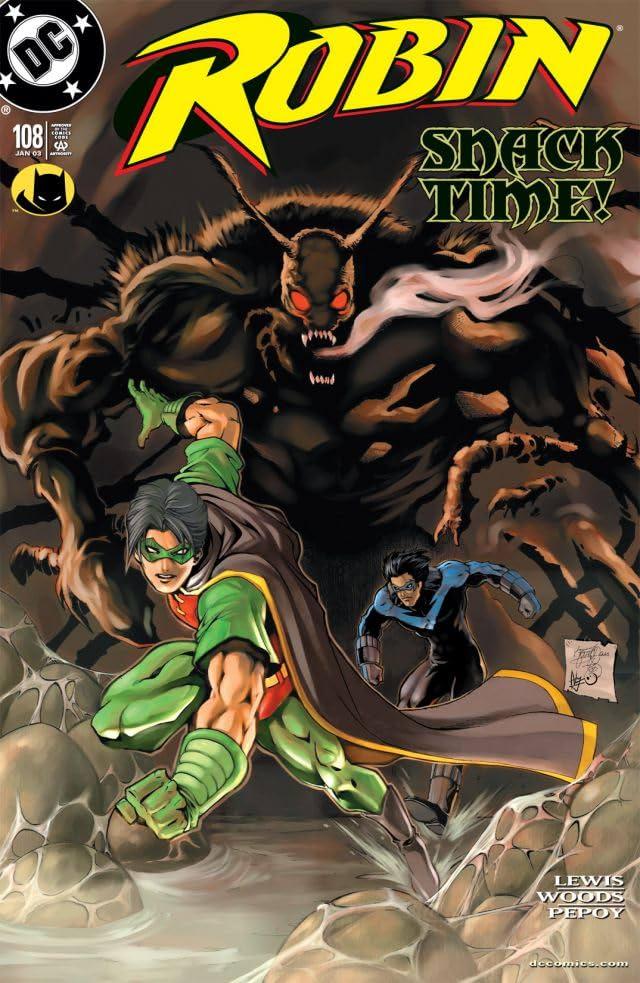Robin (1993-2009) #108