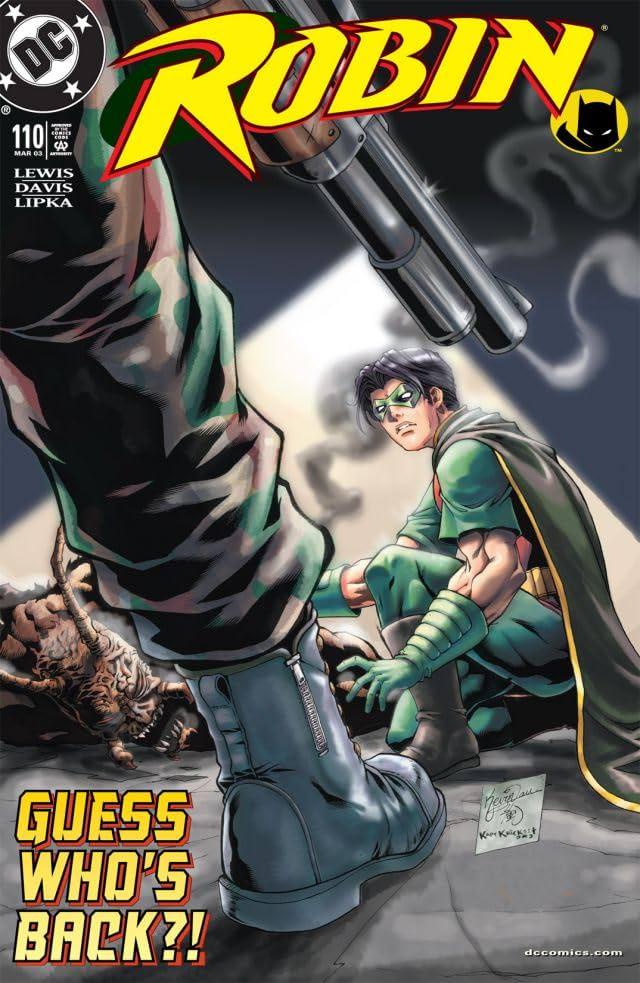 Robin (1993-2009) #110