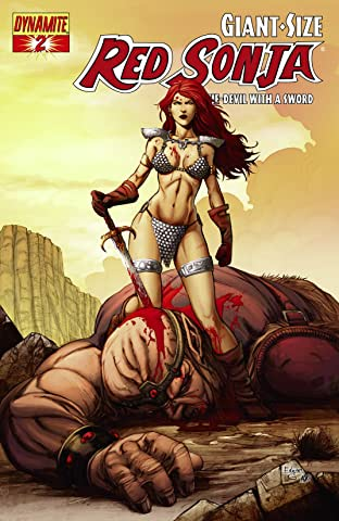 Giant-Size Red Sonja: She-Devil With a Sword No.2