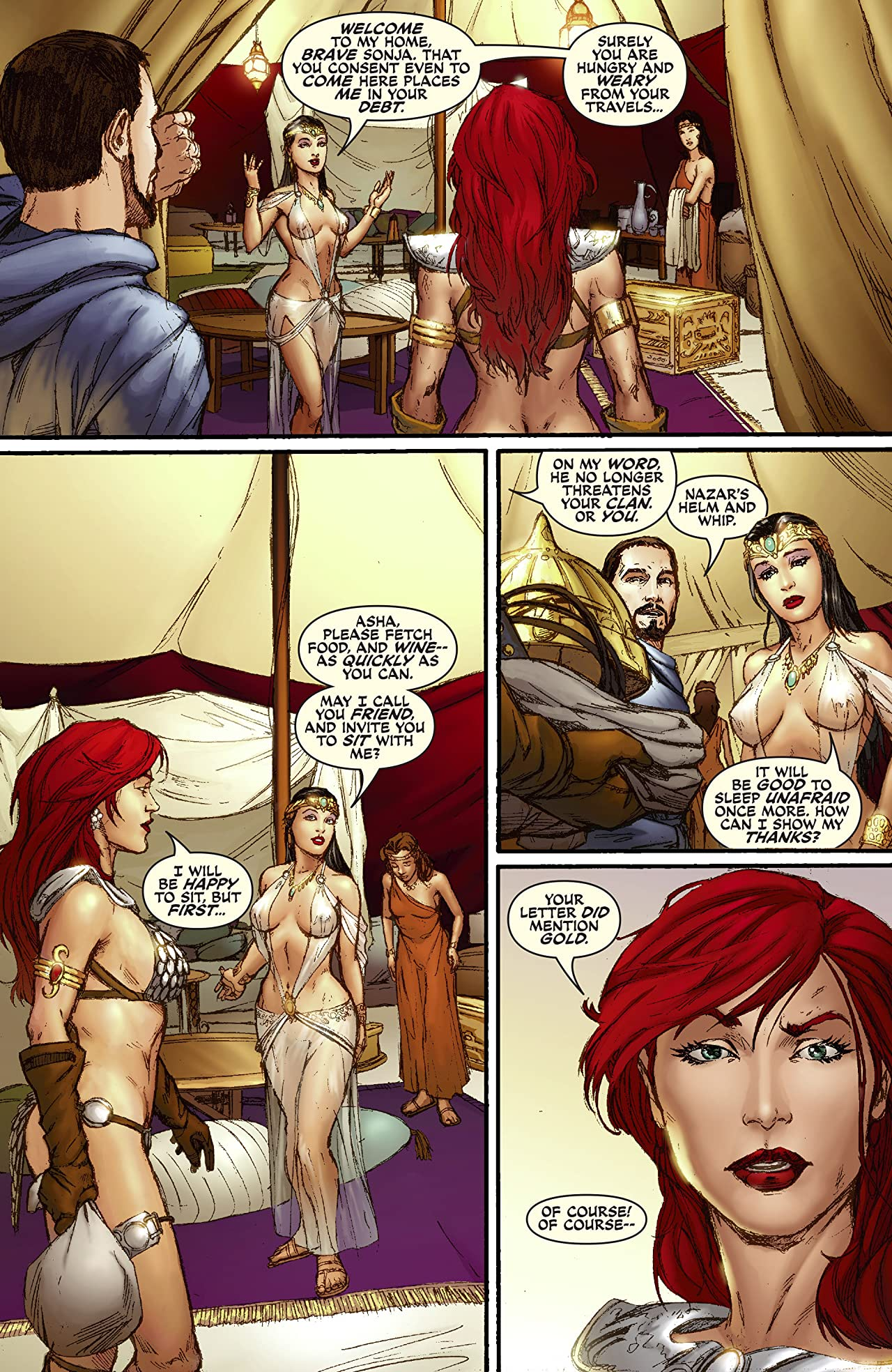 Red Sonja: Break The Skin