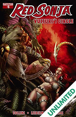 Red Sonja: Vulture's Circle #5: Digital Exclusive Edition