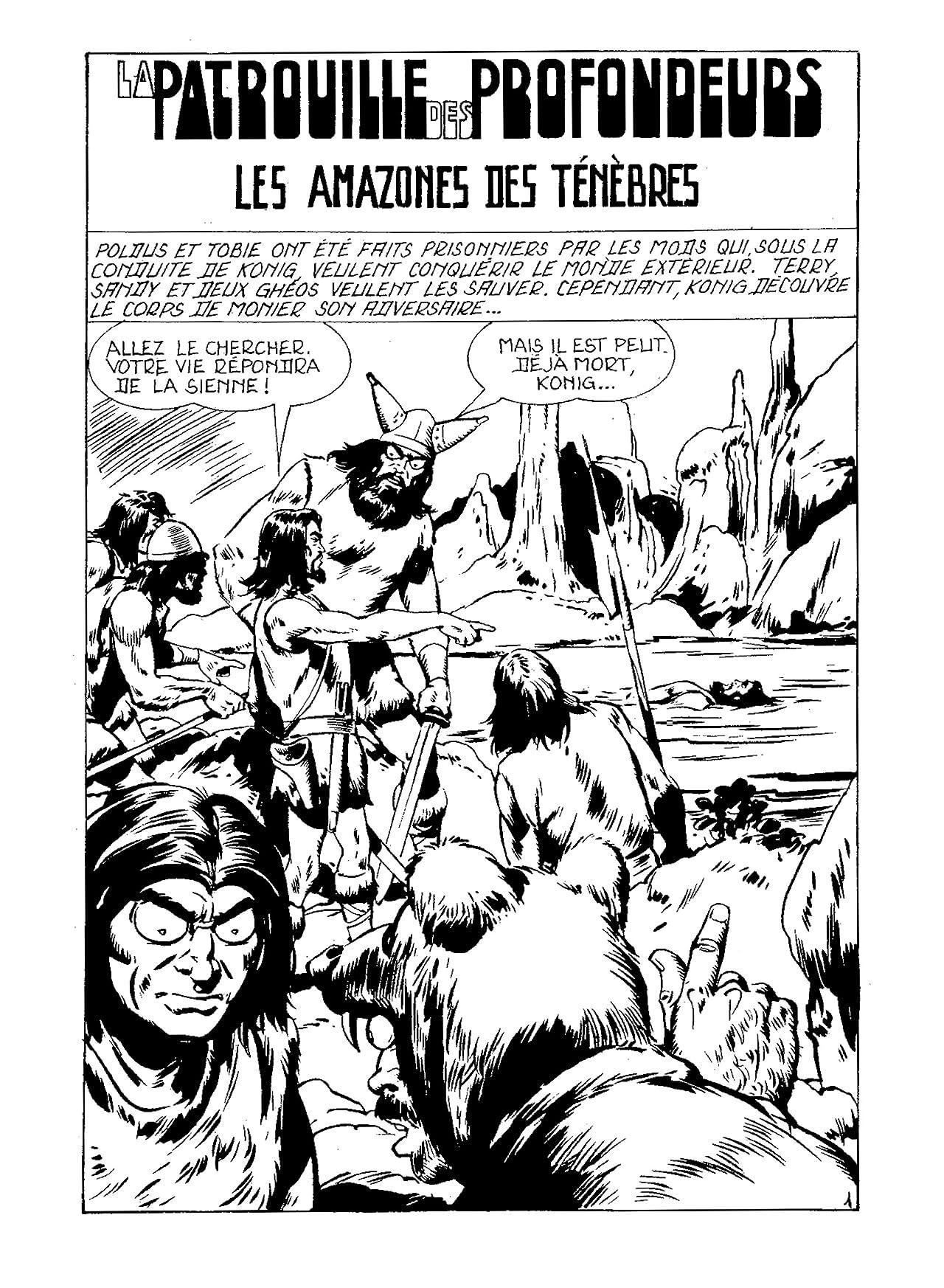PATROUILLE DES PROFONDEURS Vol. 4: Les Amazones des Ténèbres