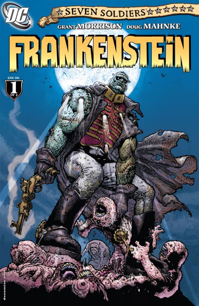 Seven Soldiers: Frankenstein #1 (of 4)