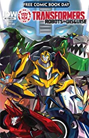 Transformers: Robots In Disguise Animated (2015-2016) #0: FCBD 2015