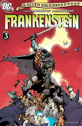 Seven Soldiers: Frankenstein #3 (of 4)