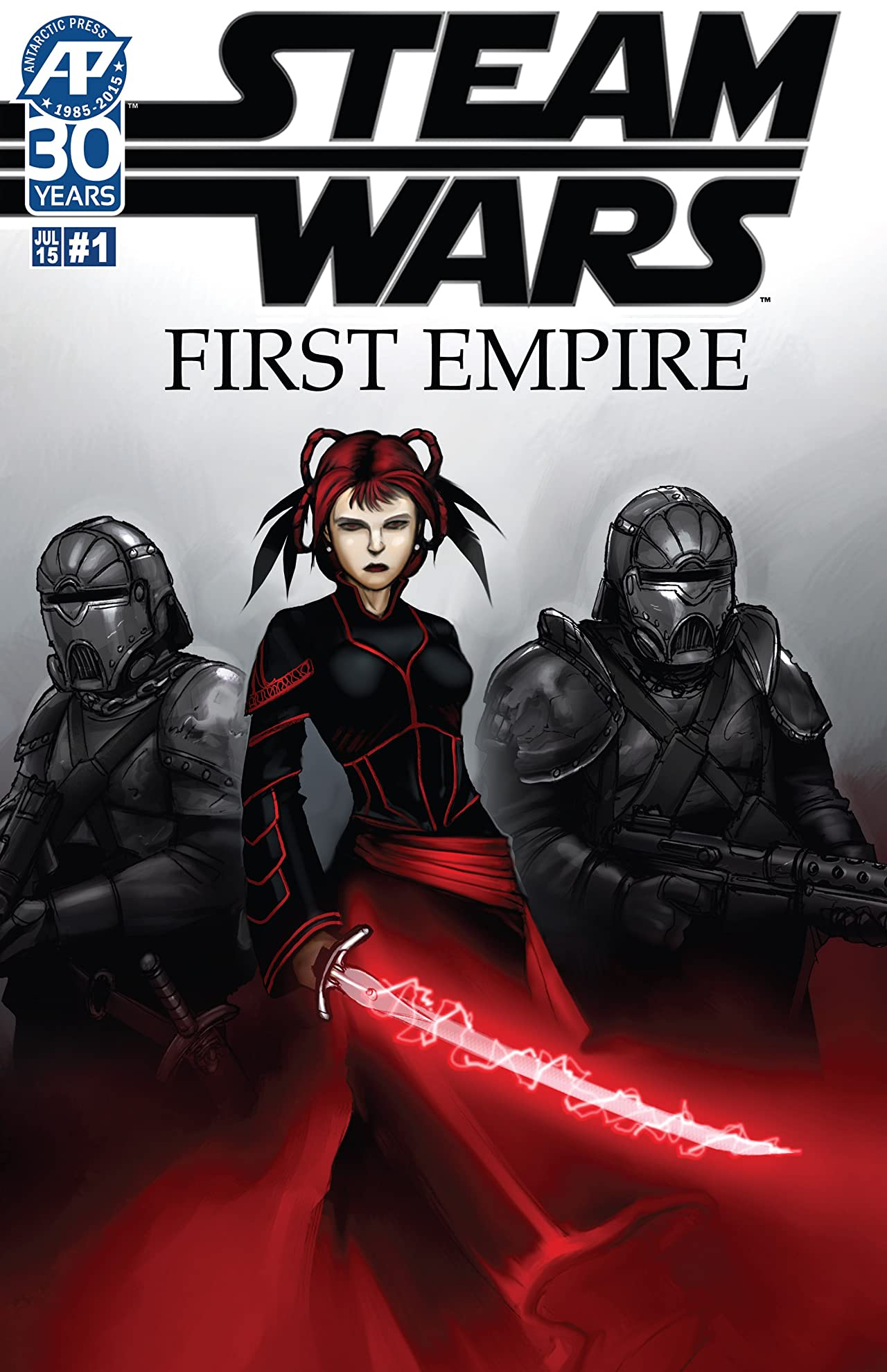 Steam Wars: First Empire #1