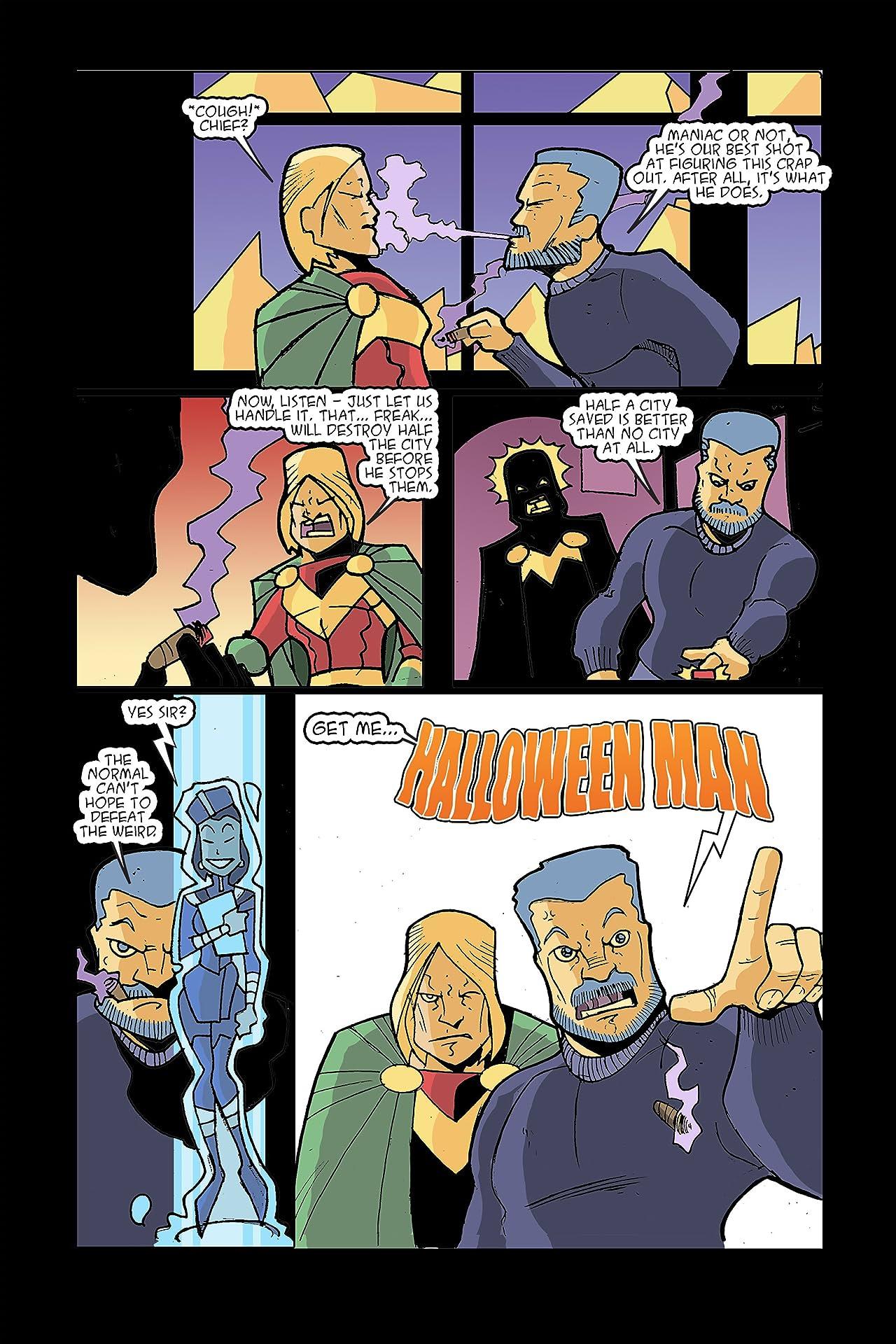 Halloween Man #1