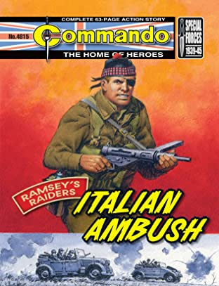 Commando #4815: Ramsey's Raiders: Italian Ambush