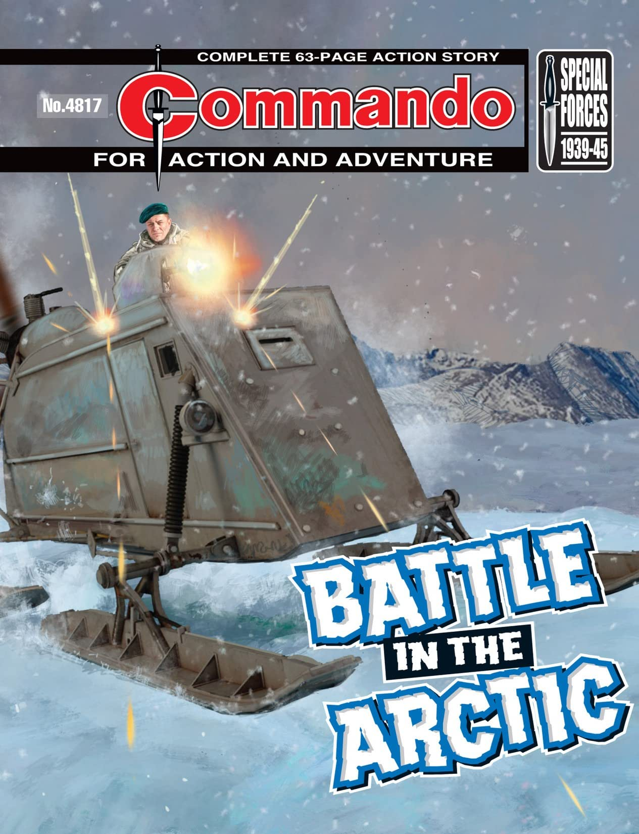 Commando #4817: Battle In The Arctic