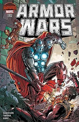 Armor Wars (2015) No.2