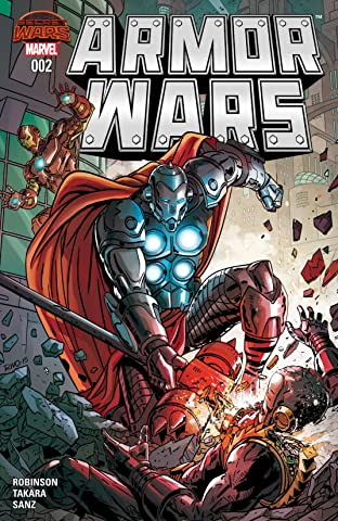 Armor Wars (2015) No.2