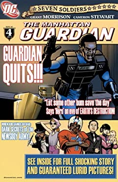 Seven Soldiers: The Manhattan Guardian #4 (of 4)