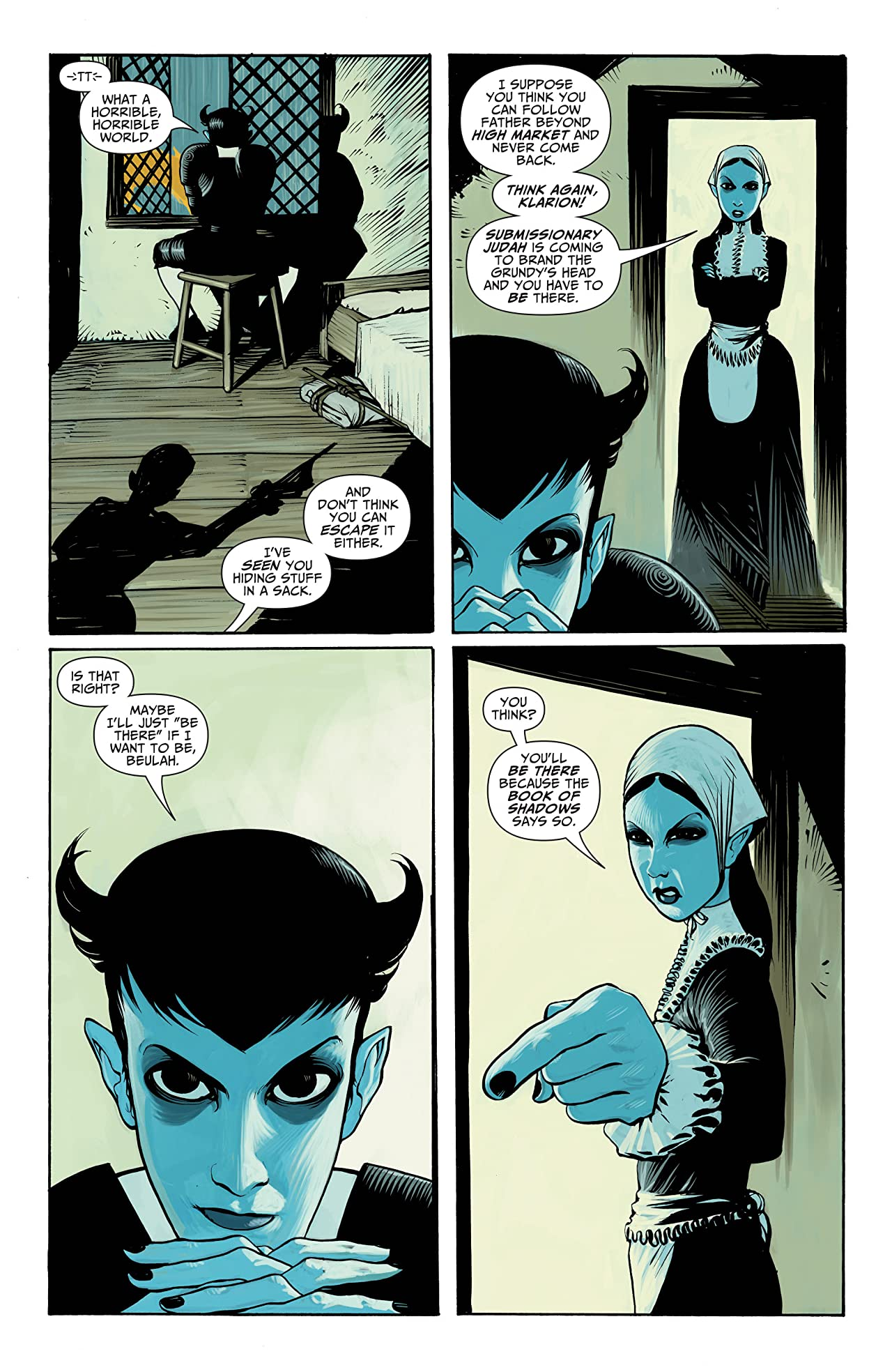 Seven Soldiers: Klarion the Witch Boy #1 (of 4)