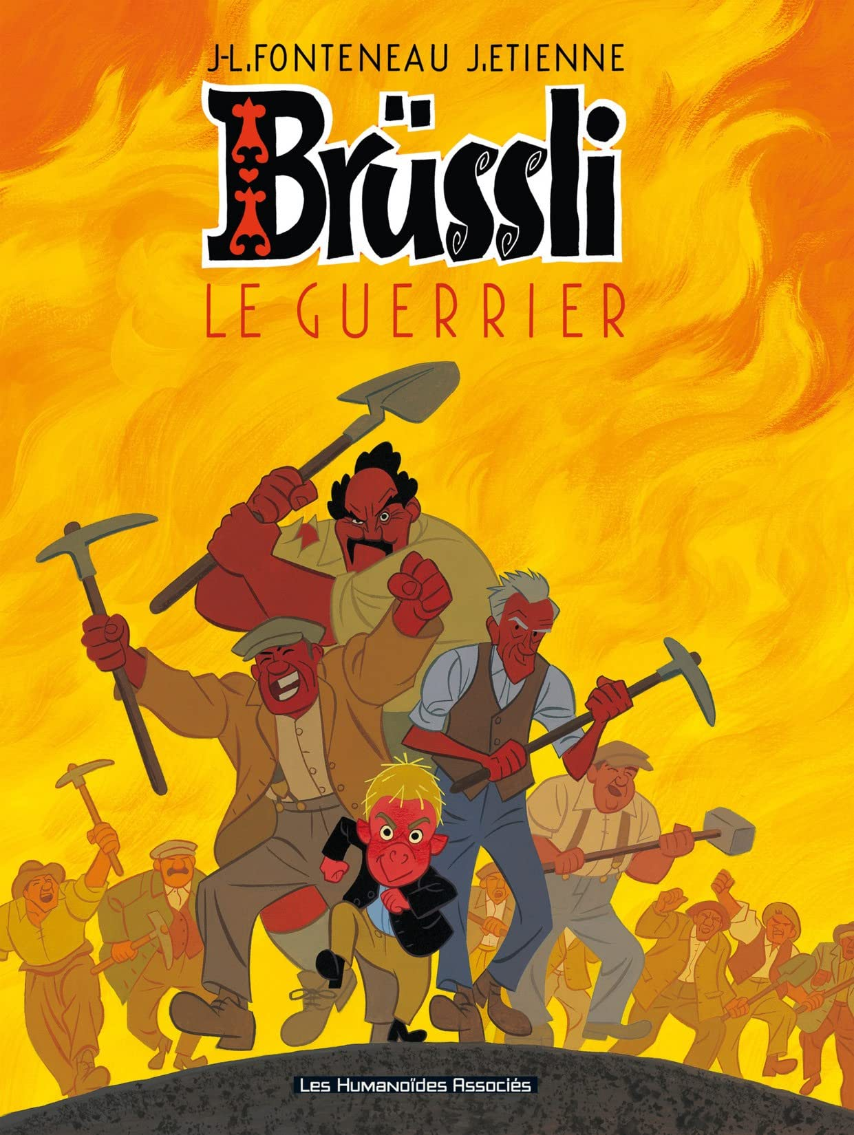 Brüssli Vol. 2: Le Guerrier
