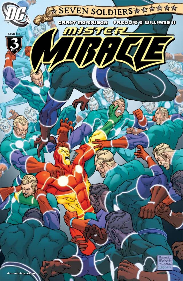 Seven Soldiers: Mister Miracle #3 (of 4)