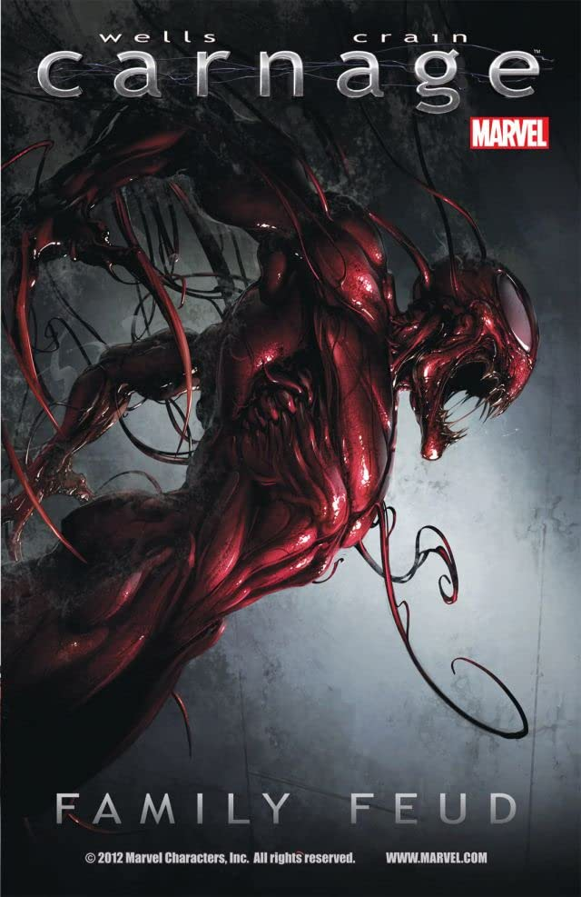 carnage family feud comics by comixology