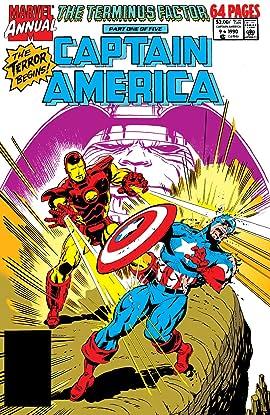 Captain America (1968-1996) Annual #9