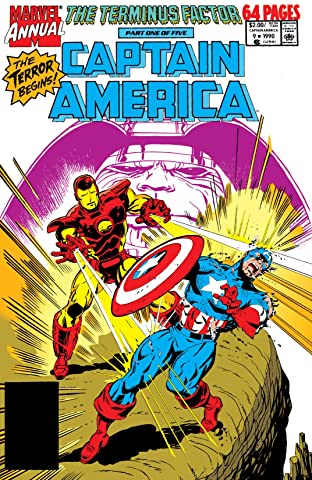 Captain America (1968-1996) Annual #9