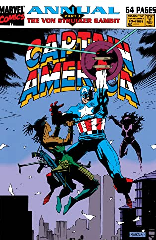 Captain America (1968-1996) Annual #10