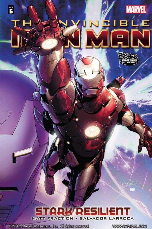 Invincible Iron Man Vol. 5: Stark Resilient Book 1