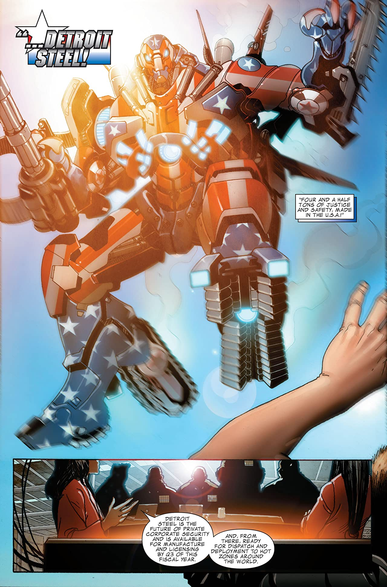 Invincible Iron Man Tome 5: Stark Resilient Book 1