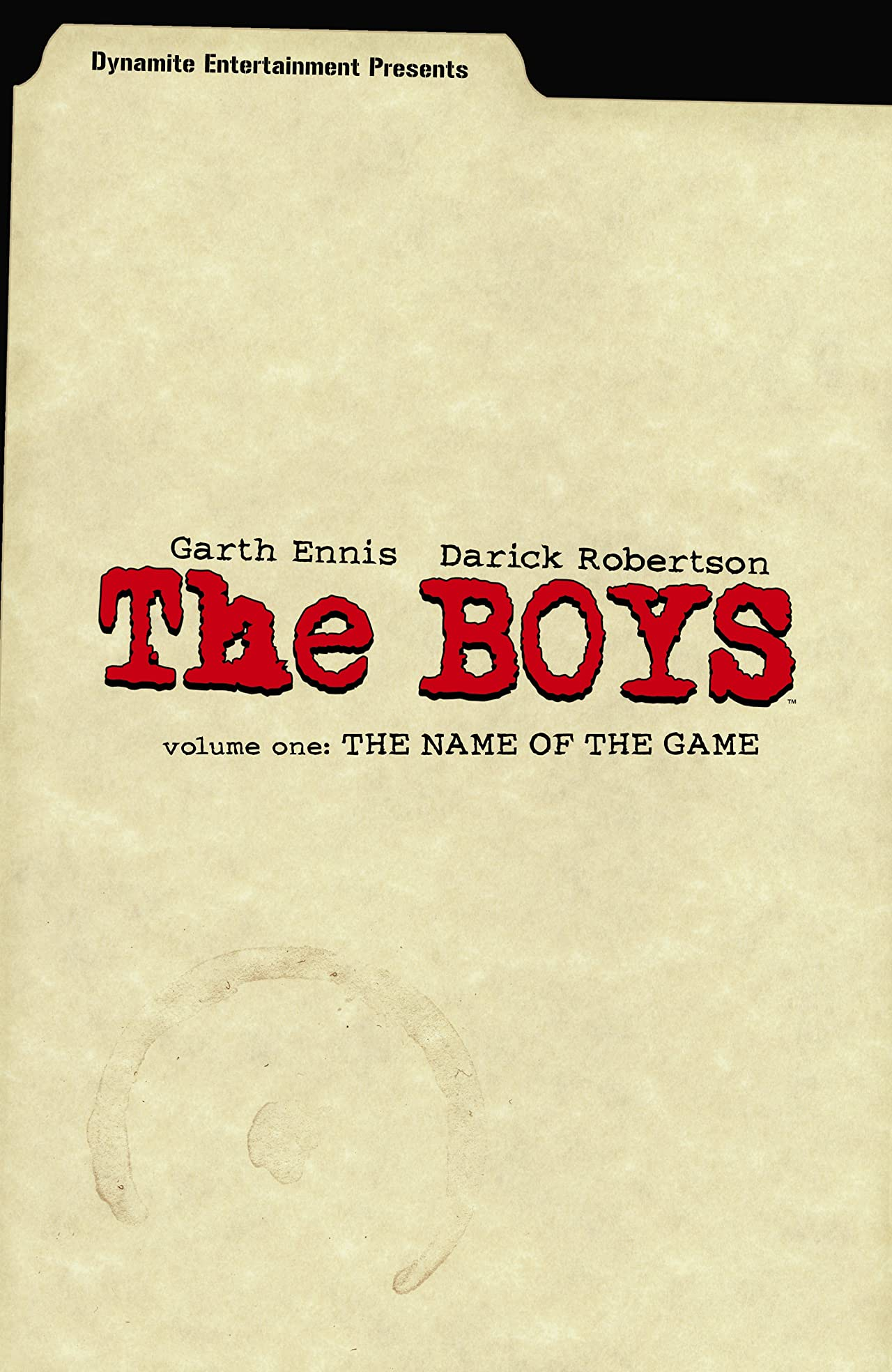 The Boys Tome 1: The Name of the Game
