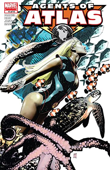Agents Of Atlas (2006-2007) #4 (of 6)