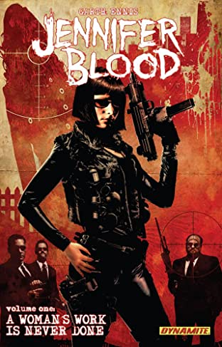 Garth Ennis' Jennifer Blood Tome 1
