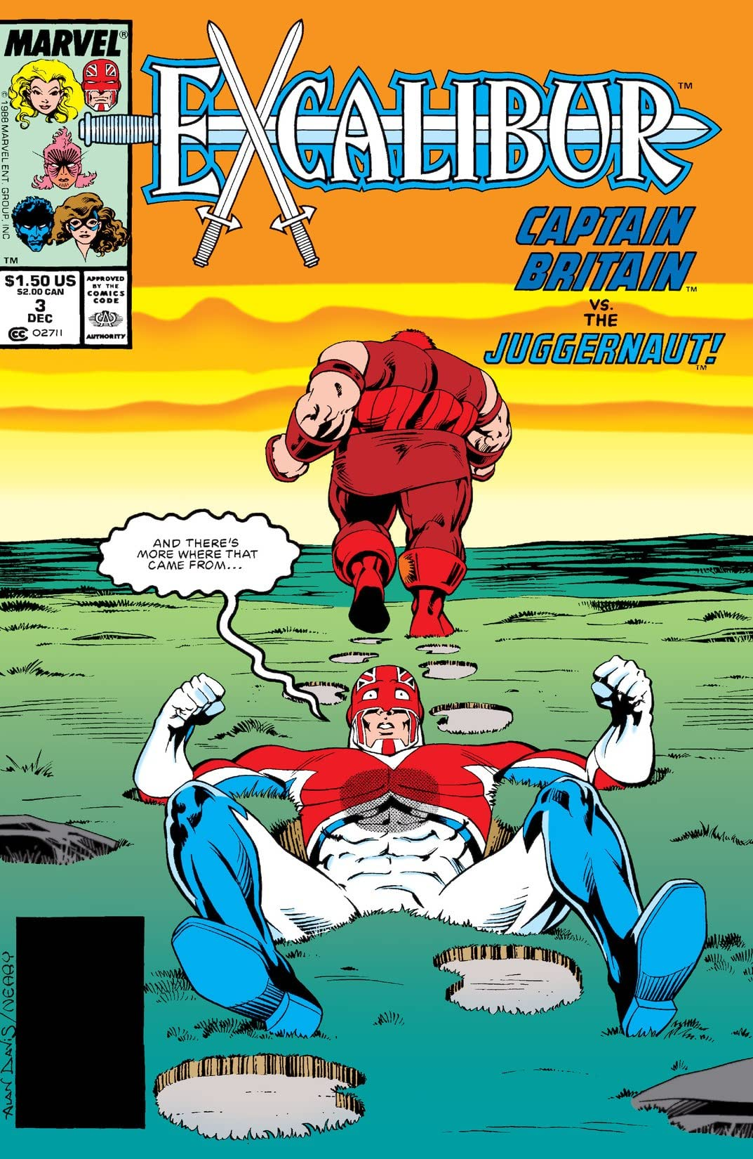 Excalibur (1988-1998) #3