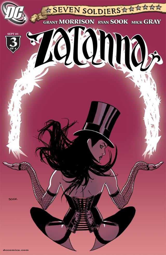 Seven Soldiers: Zatanna #3 (of 4)