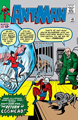 Ant-Man (1959-1968) #45