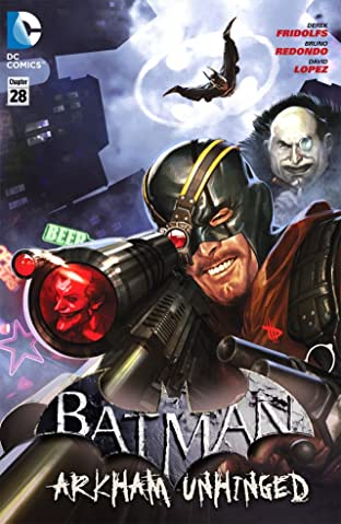 Batman: Arkham Unhinged #28