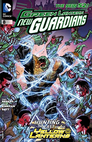 Green Lantern: New Guardians (2011-2015) No.8