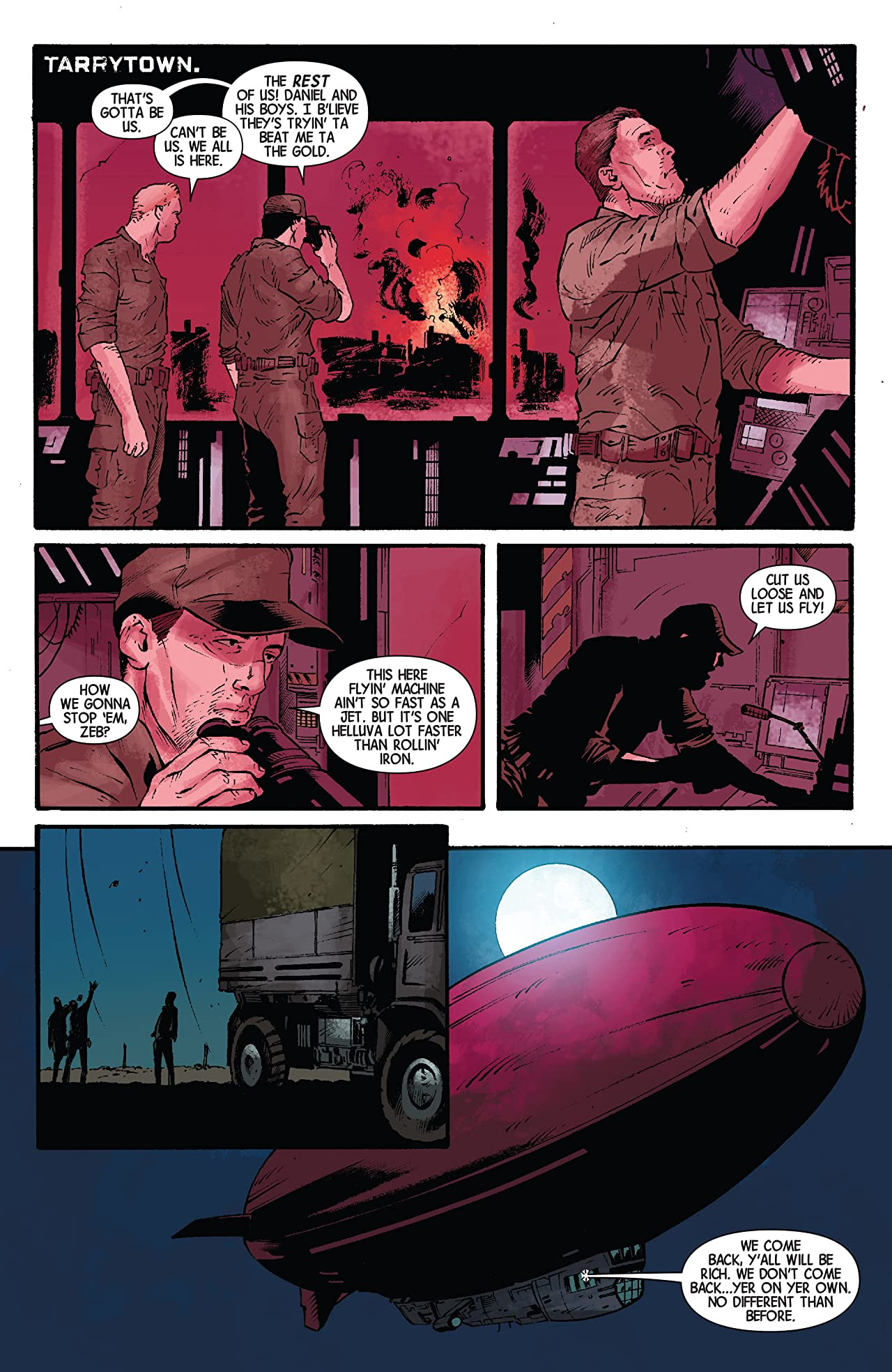 George Romero's Empire of the Dead: Act Three #3 (of 5)