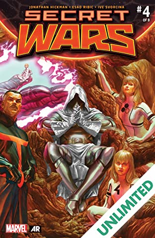 Secret Wars (2015-2016) #4 (of 9)