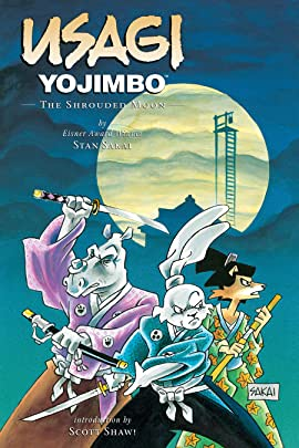 Usagi Yojimbo Vol. 16: The Shrouded Moon