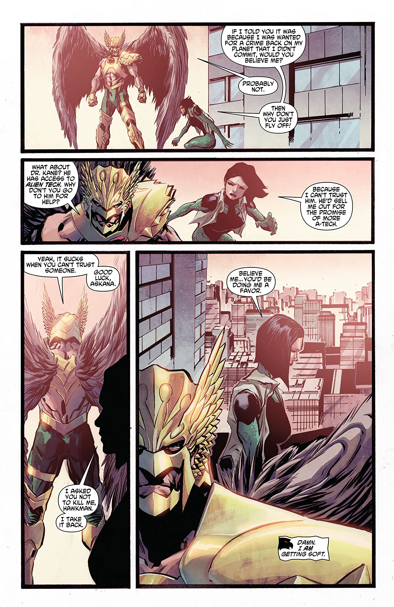 The Savage Hawkman (2011-2013) #8