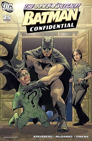 Batman Confidential (2006-2011) #25