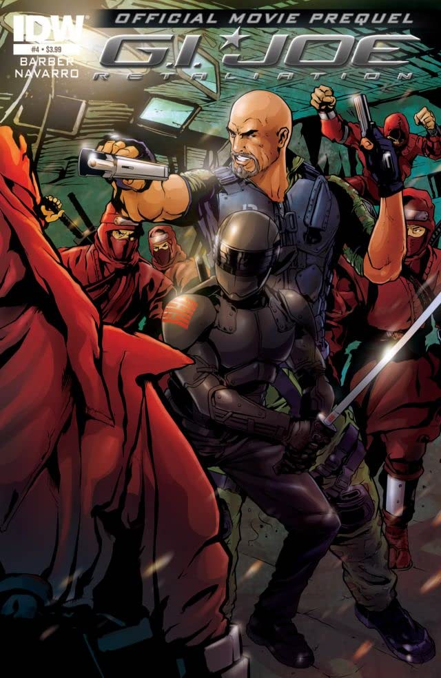 G.I. Joe 2 Movie Prequel - Retaliation #4