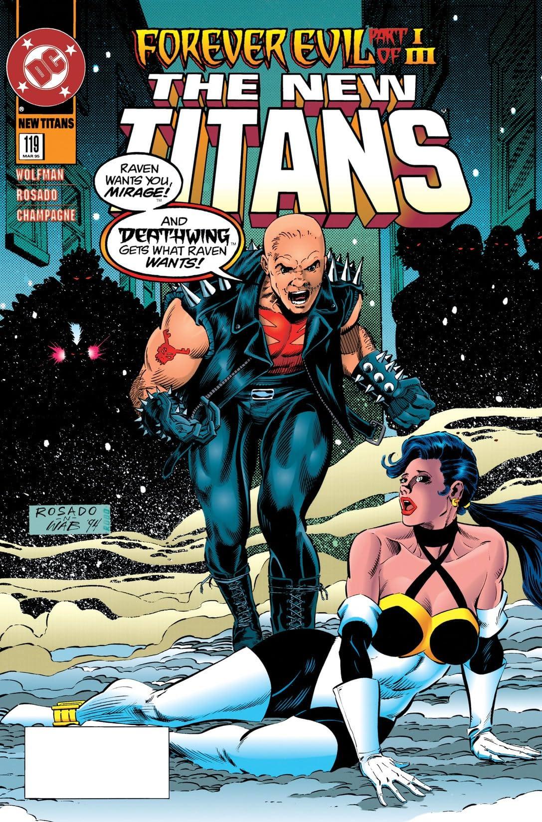 The New Titans (1984-1996) #119