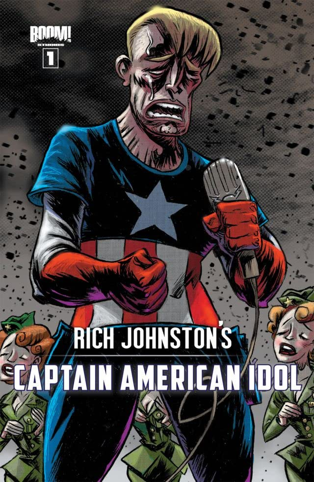 Rich Johnston's Captain American Idol #1