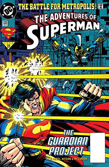 Adventures of Superman (1986-2006) #513