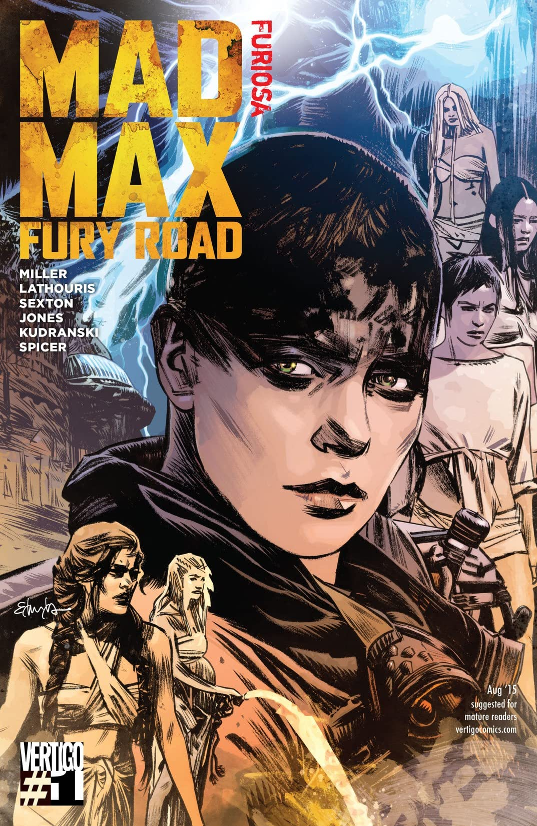 Mad Max: Fury Road: Furiosa (2015) #1