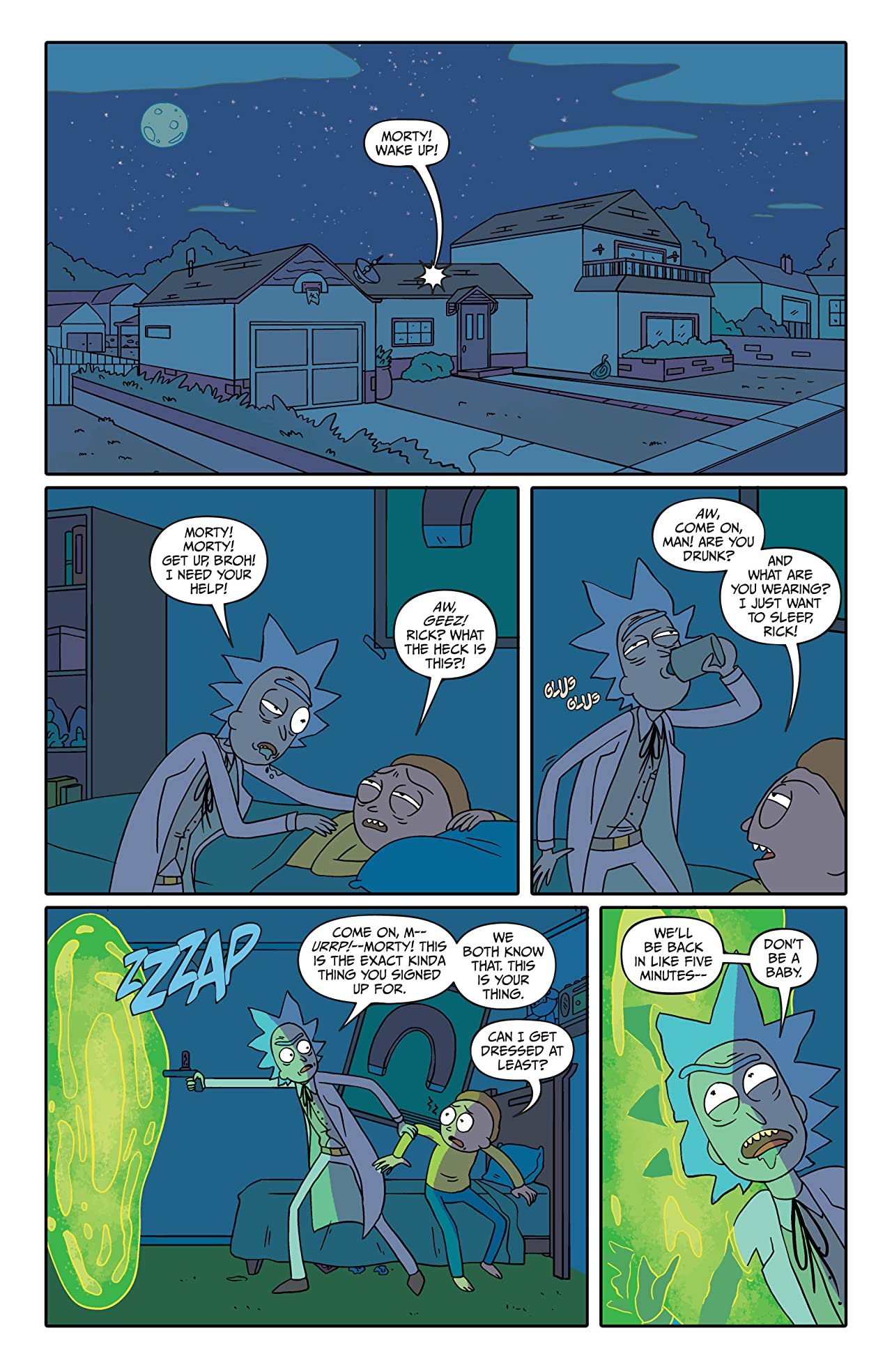 Rick and Morty #4