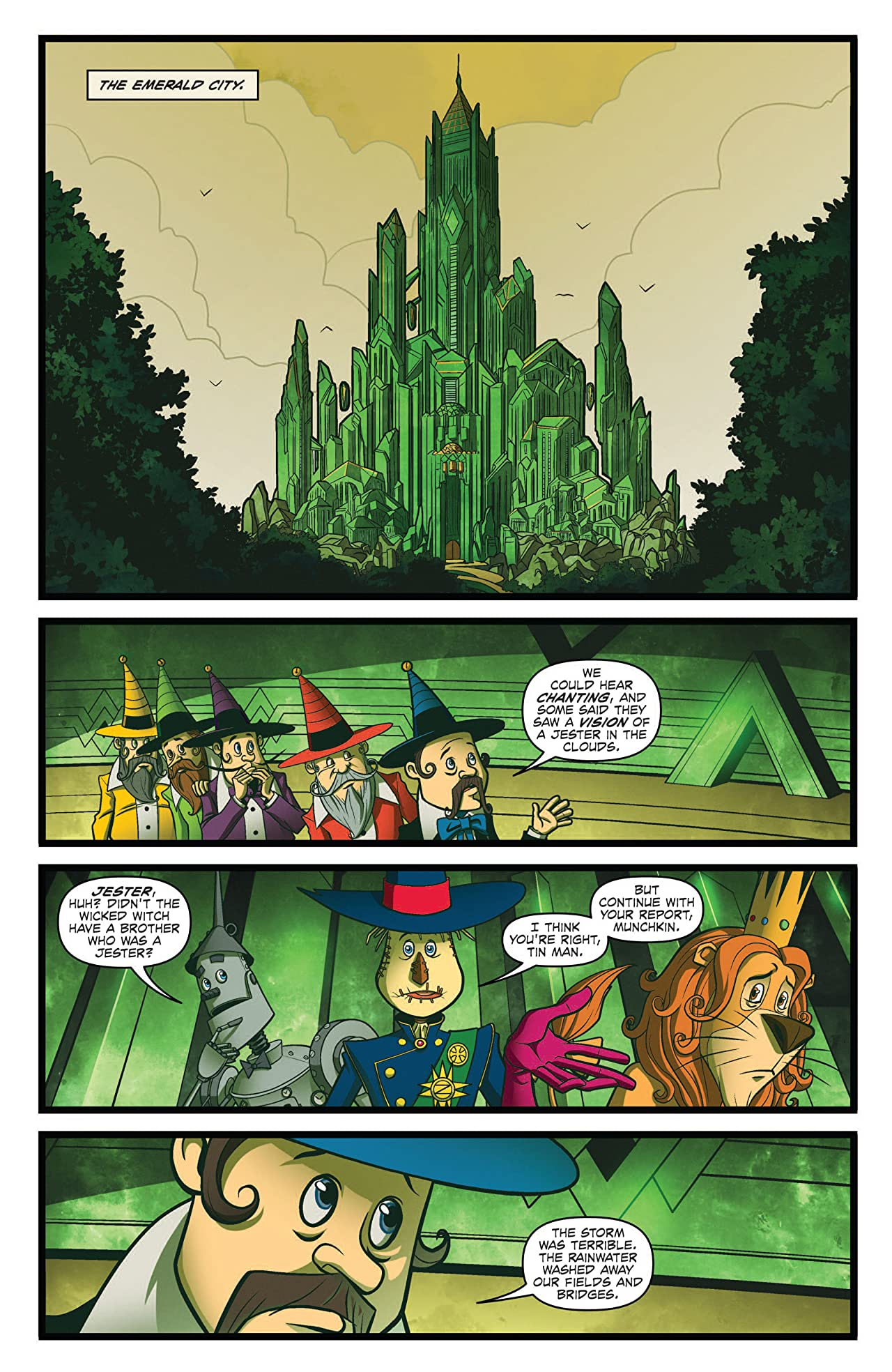 Dorothy of Oz Prequel #2 (of 4)